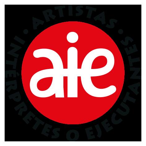 Logo AIE presentaciones positivo letras negras